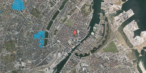 Oversvømmelsesrisiko fra vandløb på Nikolaj Plads 32, 3. , 1067 København K