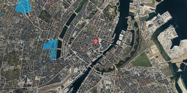 Oversvømmelsesrisiko fra vandløb på Nikolaj Plads 34, kl. 9, 1067 København K