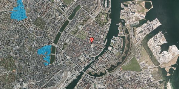 Oversvømmelsesrisiko fra vandløb på Ny Adelgade 3, 2. th, 1104 København K