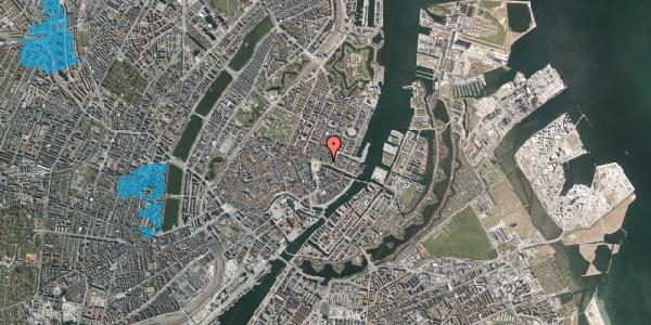 Oversvømmelsesrisiko fra vandløb på Nyhavn 1, kl. tv, 1051 København K