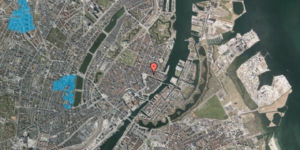 Oversvømmelsesrisiko fra vandløb på Nyhavn 5, st. , 1051 København K