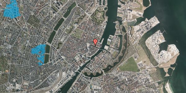 Oversvømmelsesrisiko fra vandløb på Nyhavn 6, 1. , 1051 København K