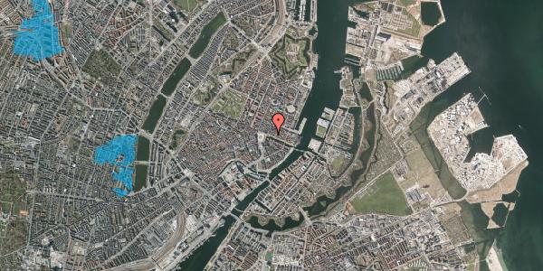 Oversvømmelsesrisiko fra vandløb på Nyhavn 7, kl. , 1051 København K