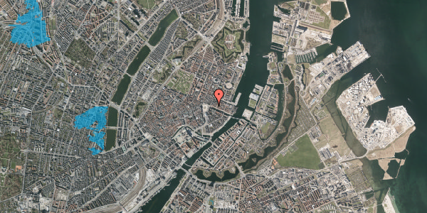 Oversvømmelsesrisiko fra vandløb på Nyhavn 7, 2. , 1051 København K