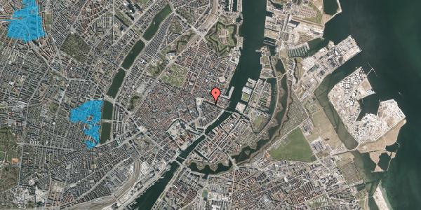 Oversvømmelsesrisiko fra vandløb på Nyhavn 8, kl. tv, 1051 København K