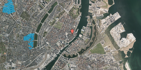 Oversvømmelsesrisiko fra vandløb på Nyhavn 8, 2. , 1051 København K