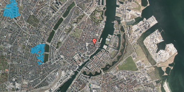 Oversvømmelsesrisiko fra vandløb på Nyhavn 8, 3. , 1051 København K