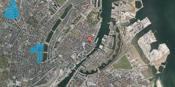 Oversvømmelsesrisiko fra vandløb på Nyhavn 9A, st. , 1051 København K