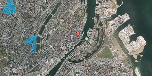 Oversvømmelsesrisiko fra vandløb på Nyhavn 10, kl. , 1051 København K