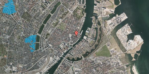Oversvømmelsesrisiko fra vandløb på Nyhavn 10, st. , 1051 København K