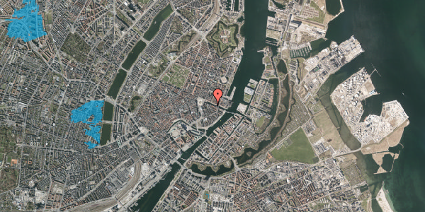 Oversvømmelsesrisiko fra vandløb på Nyhavn 10, 4. , 1051 København K