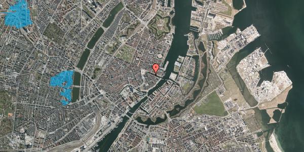 Oversvømmelsesrisiko fra vandløb på Nyhavn 12A, 2. , 1051 København K