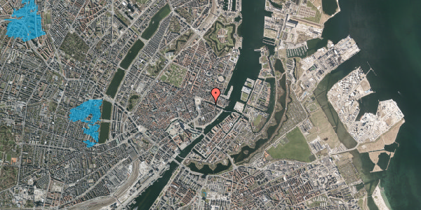 Oversvømmelsesrisiko fra vandløb på Nyhavn 12, 4. , 1051 København K