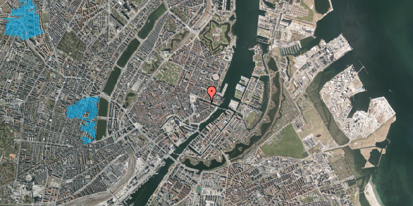 Oversvømmelsesrisiko fra vandløb på Nyhavn 16, 3. , 1051 København K