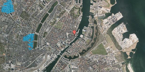 Oversvømmelsesrisiko fra vandløb på Nyhavn 20A, 1. , 1051 København K