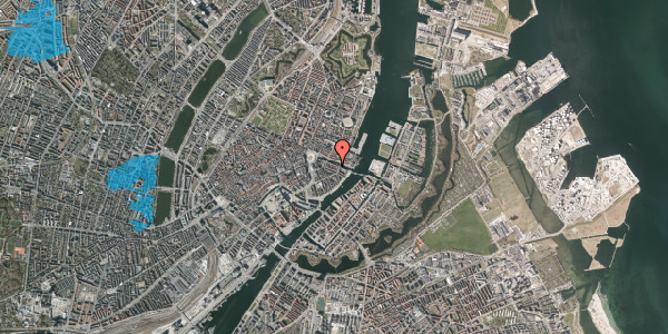 Oversvømmelsesrisiko fra vandløb på Nyhavn 20C, 3. tv, 1051 København K