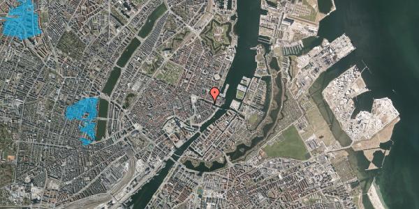 Oversvømmelsesrisiko fra vandløb på Nyhavn 22, st. , 1051 København K