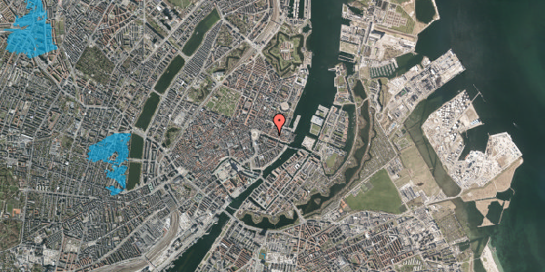 Oversvømmelsesrisiko fra vandløb på Nyhavn 31A, 1. , 1051 København K