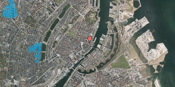 Oversvømmelsesrisiko fra vandløb på Nyhavn 31B, 3. , 1051 København K