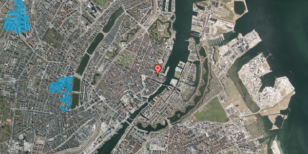 Oversvømmelsesrisiko fra vandløb på Nyhavn 31D, st. , 1051 København K