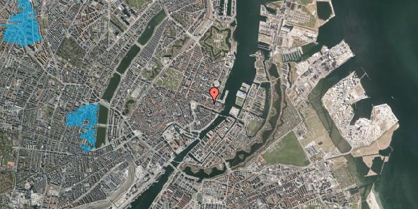 Oversvømmelsesrisiko fra vandløb på Nyhavn 31E, st. 1, 1051 København K