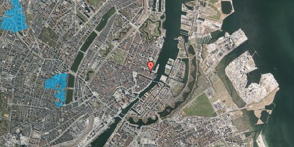 Oversvømmelsesrisiko fra vandløb på Nyhavn 31F, 1. tv, 1051 København K