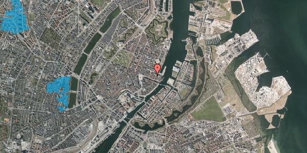 Oversvømmelsesrisiko fra vandløb på Nyhavn 31F, 2. th, 1051 København K