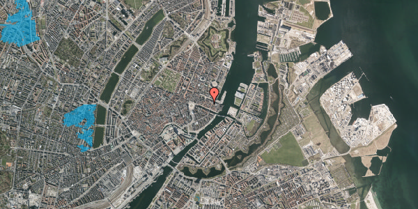Oversvømmelsesrisiko fra vandløb på Nyhavn 31F, 3. tv, 1051 København K