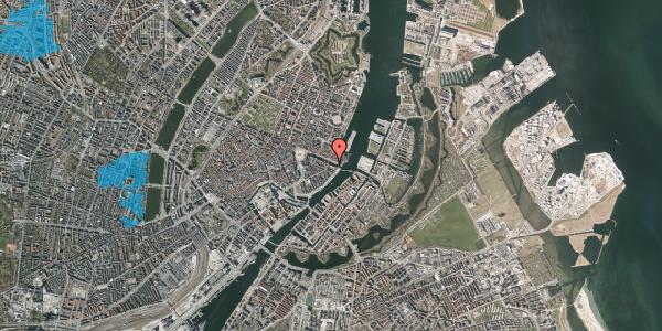 Oversvømmelsesrisiko fra vandløb på Nyhavn 40, kl. 1, 1051 København K