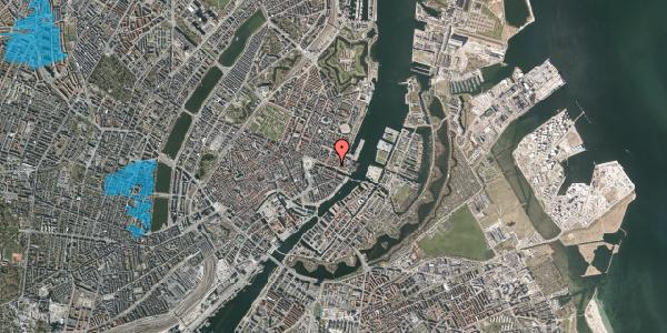 Oversvømmelsesrisiko fra vandløb på Nyhavn 41, 3. tv, 1051 København K