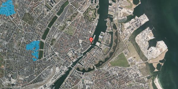 Oversvømmelsesrisiko fra vandløb på Nyhavn 42A, kl. tv, 1051 København K