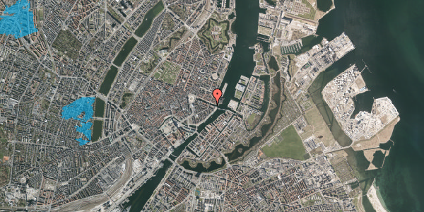 Oversvømmelsesrisiko fra vandløb på Nyhavn 42A, 5. th, 1051 København K
