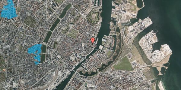 Oversvømmelsesrisiko fra vandløb på Nyhavn 43A, st. th, 1051 København K