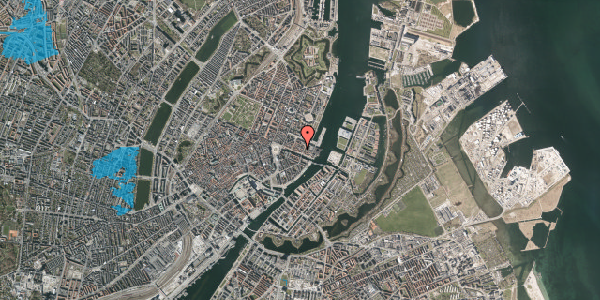 Oversvømmelsesrisiko fra vandløb på Nyhavn 43A, 3. tv, 1051 København K