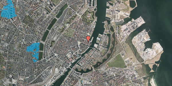 Oversvømmelsesrisiko fra vandløb på Nyhavn 43B, 2. , 1051 København K