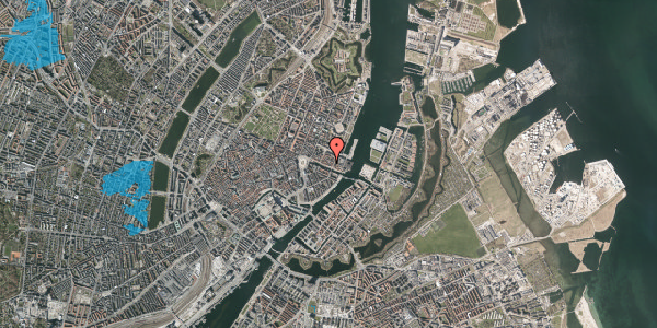 Oversvømmelsesrisiko fra vandløb på Nyhavn 43C, kl. , 1051 København K