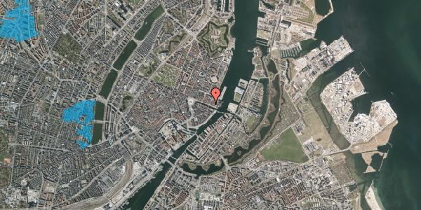 Oversvømmelsesrisiko fra vandløb på Nyhavn 51, st. , 1051 København K