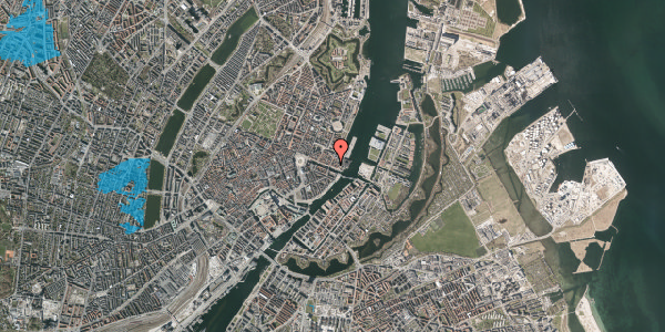 Oversvømmelsesrisiko fra vandløb på Nyhavn 53, 3. , 1051 København K