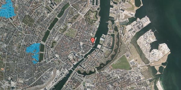 Oversvømmelsesrisiko fra vandløb på Nyhavn 57B, 3. , 1051 København K