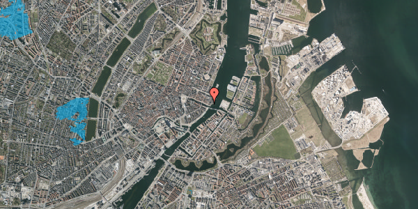 Oversvømmelsesrisiko fra vandløb på Nyhavn 71, 1051 København K