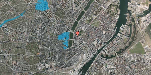 Oversvømmelsesrisiko fra vandløb på Nyropsgade 15, 2. th, 1602 København V