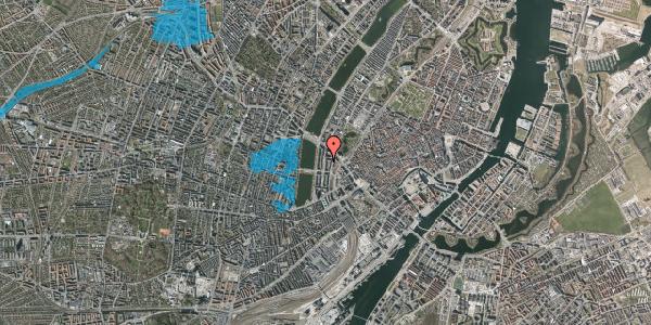 Oversvømmelsesrisiko fra vandløb på Nyropsgade 17, kl. 1, 1602 København V