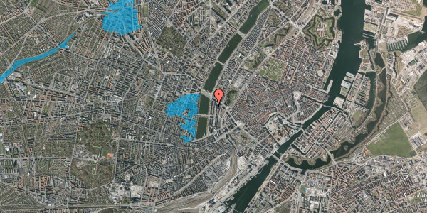 Oversvømmelsesrisiko fra vandløb på Nyropsgade 18, 1. , 1602 København V
