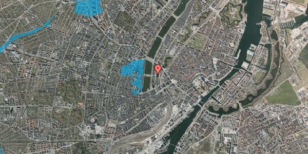Oversvømmelsesrisiko fra vandløb på Nyropsgade 30, kl. th, 1602 København V