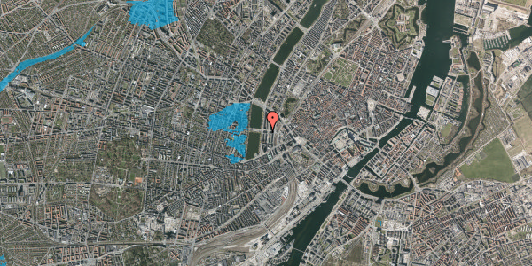 Oversvømmelsesrisiko fra vandløb på Nyropsgade 30, 1. th, 1602 København V