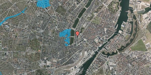 Oversvømmelsesrisiko fra vandløb på Nyropsgade 30, 2. th, 1602 København V