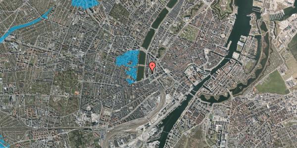 Oversvømmelsesrisiko fra vandløb på Nyropsgade 47, 2. , 1602 København V