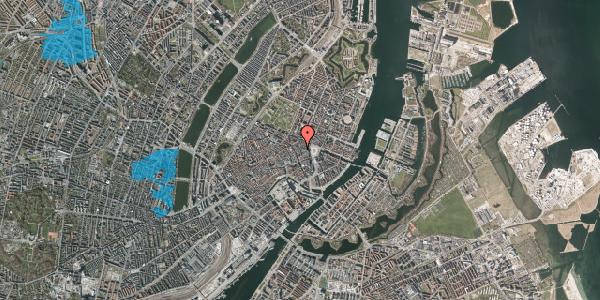 Oversvømmelsesrisiko fra vandløb på Ny Østergade 9, 3. , 1101 København K