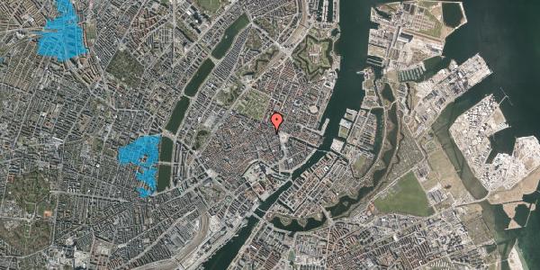 Oversvømmelsesrisiko fra vandløb på Ny Østergade 11, 2. , 1101 København K
