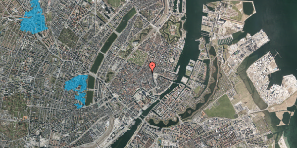 Oversvømmelsesrisiko fra vandløb på Ny Østergade 12, kl. , 1101 København K